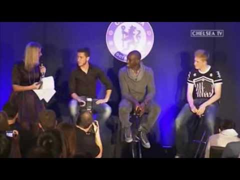 Q&A audience with hazard,ba and deBruyne