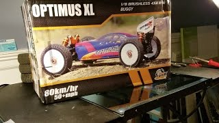 DHK OPTIMUS XL BUGGY UNBOXING RC MUSTSEE