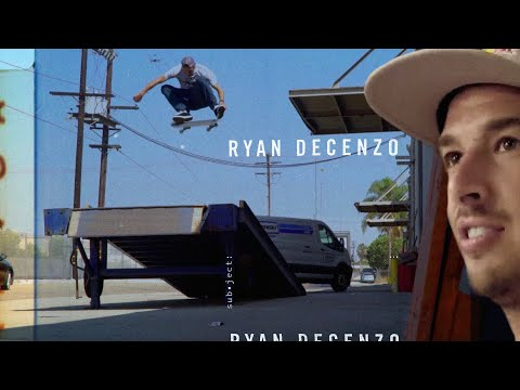 Skate Gaps & Get To Know Ryan Decenzo | SUBJECT