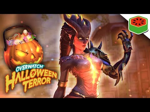 HALLOWEEN TERROR 2017! NEW LOOT BOXES AND GAMEPLAY! | Overwatch