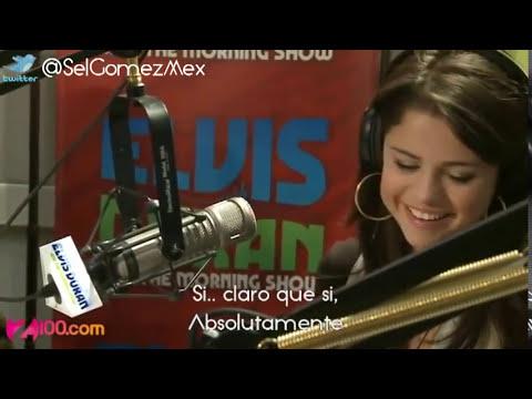Selena Gomez Entrevista Escucha una grabacion de Justin Bieber del 2009