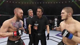 Conor McGregor vs. Khabib Nurmagomedov UFC3 21th time