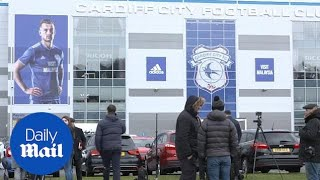 Cardiff City fans react to news of Emiliano Sala feared dead