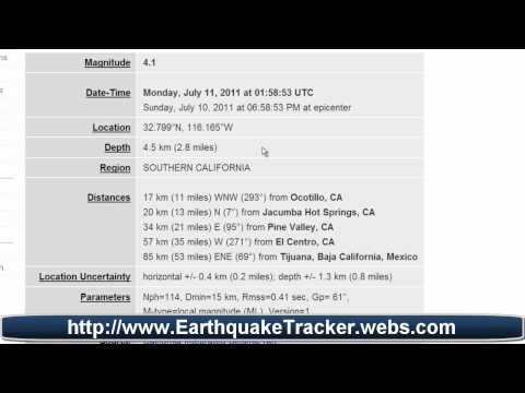 Moderate Earthquake Shakes Southern California - Worldnews.