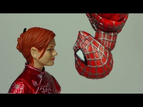 Marvel Legends Mary Jane (Spider-Man Movie) Figure Review