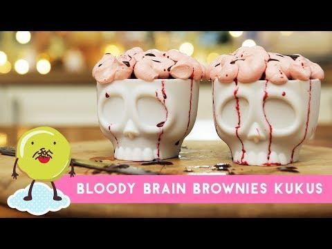 Resep Bloody Brain Brownie Kukus
