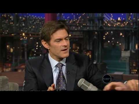 Dr.Oz Obesity Prevention (Letterman)