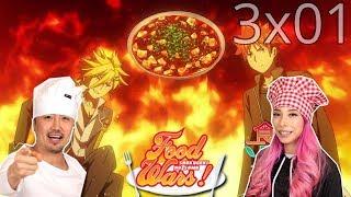 Shokugeki No Soma Third Plate Episode 1 REACTION!