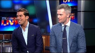 Luis Ortiz and Ryan Serhant