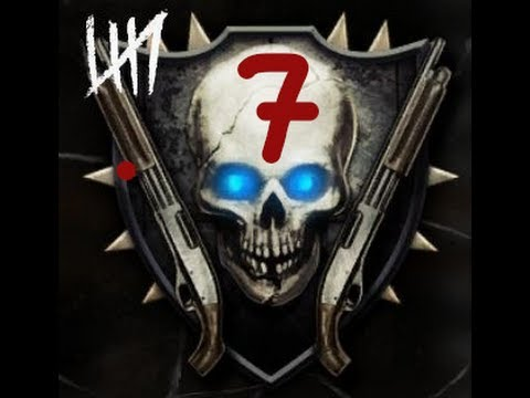 Road to Shotguns #7 - Black Ops 2 Zombies Max Rank Highest Emblem Guide