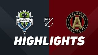 Seattle Sounders FC vs. Atlanta United FC | HIGHLIGHTS - July 14, 2019