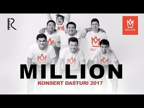 Million 2017 konsert dasturi
