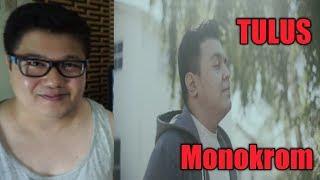 Filipino Reaction Tulus Monokrom L Official Music Audio