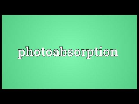 Header of Photoabsorption