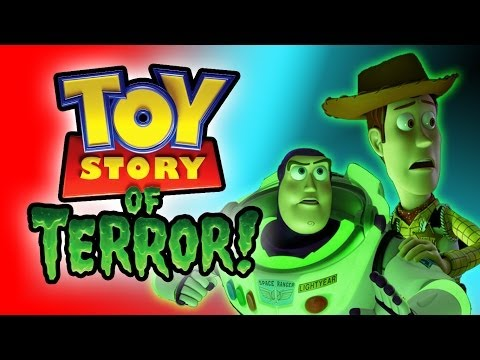 TOY STORY OF TERROR HALLOWEEN Movie Tribute Kinder Surprise Unboxing EPIC