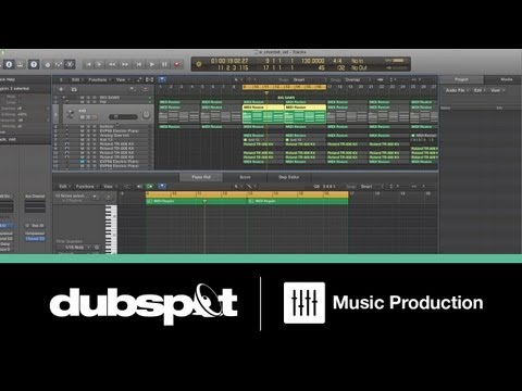 Shadetek Logic Pro X Tutorial! New Features - Using Track Stacks for Big Layered Synths