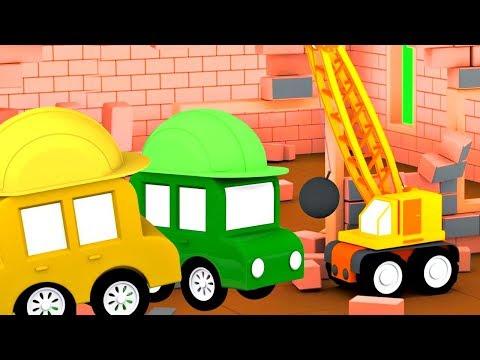 Мультики про машинки - 4 машинки на стройке. Новые мультфильмы 2018
