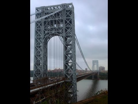 Darktable Edit #2 - Washington Bridge, New York City