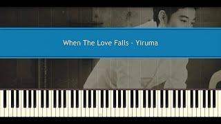 When The Love Falls Yiruma Piano Tutorial