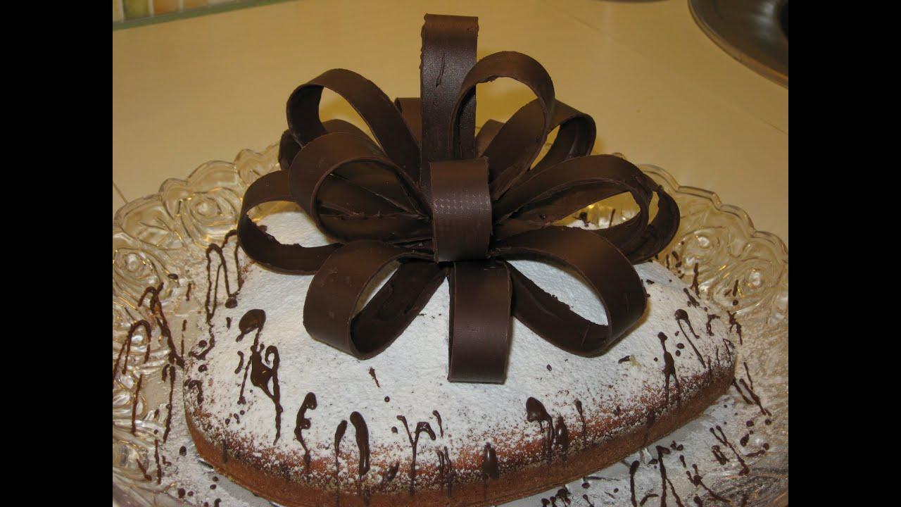 Украшения из шоколада на торт пошаговое фото