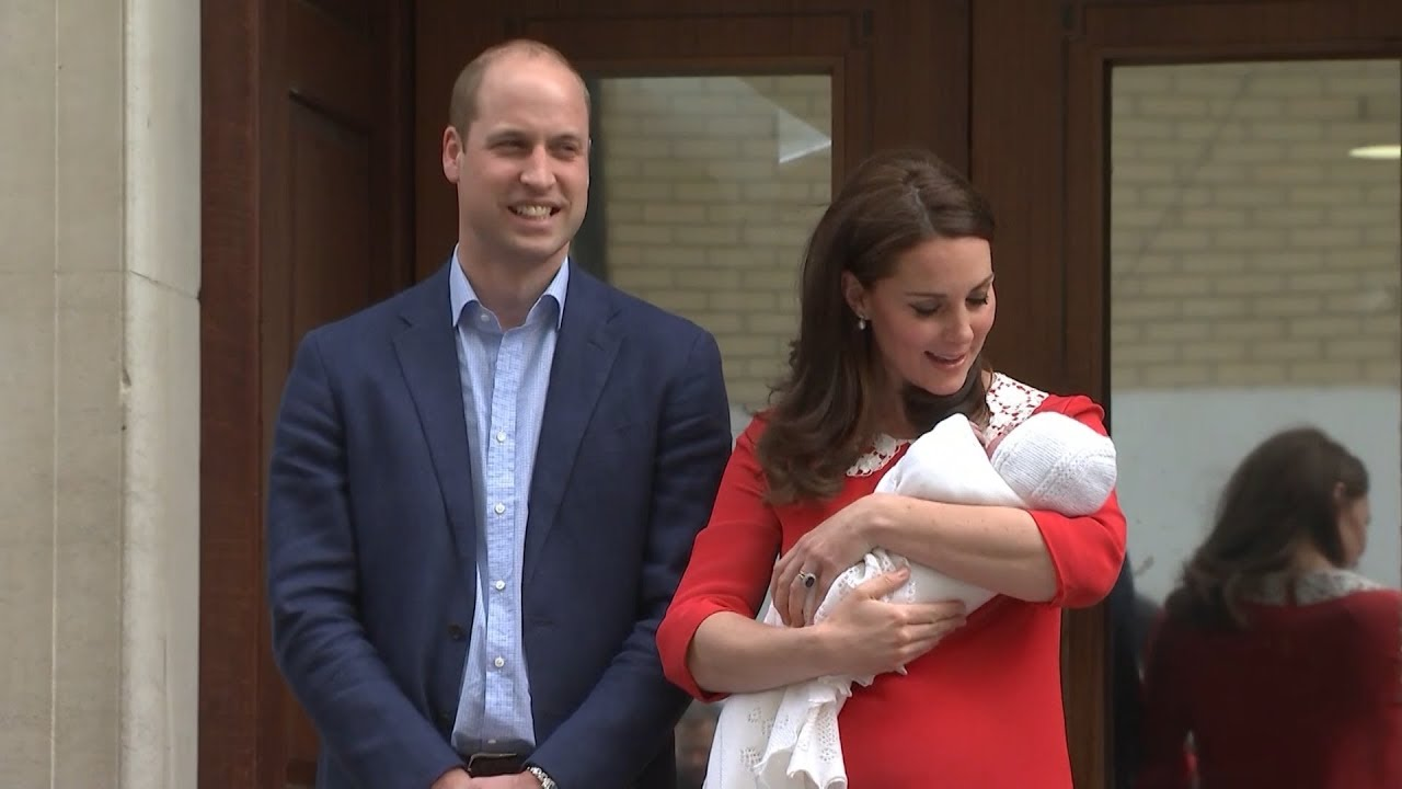 Royal Baby named Prince Louis Arthur Charles of Cambridge