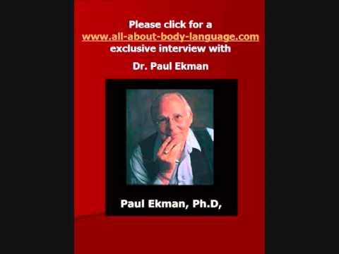 Exclusive interview with Dr. Paul Ekman. Part 1. CJB