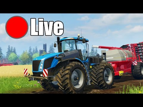 Stream testowy - Farming Simulator 2015