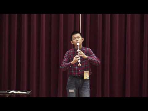 永隆國小六年七班張予謙同學為校爭光,榮獲105學年度全國學生音樂比賽國小A組直笛獨奏全國決賽優等