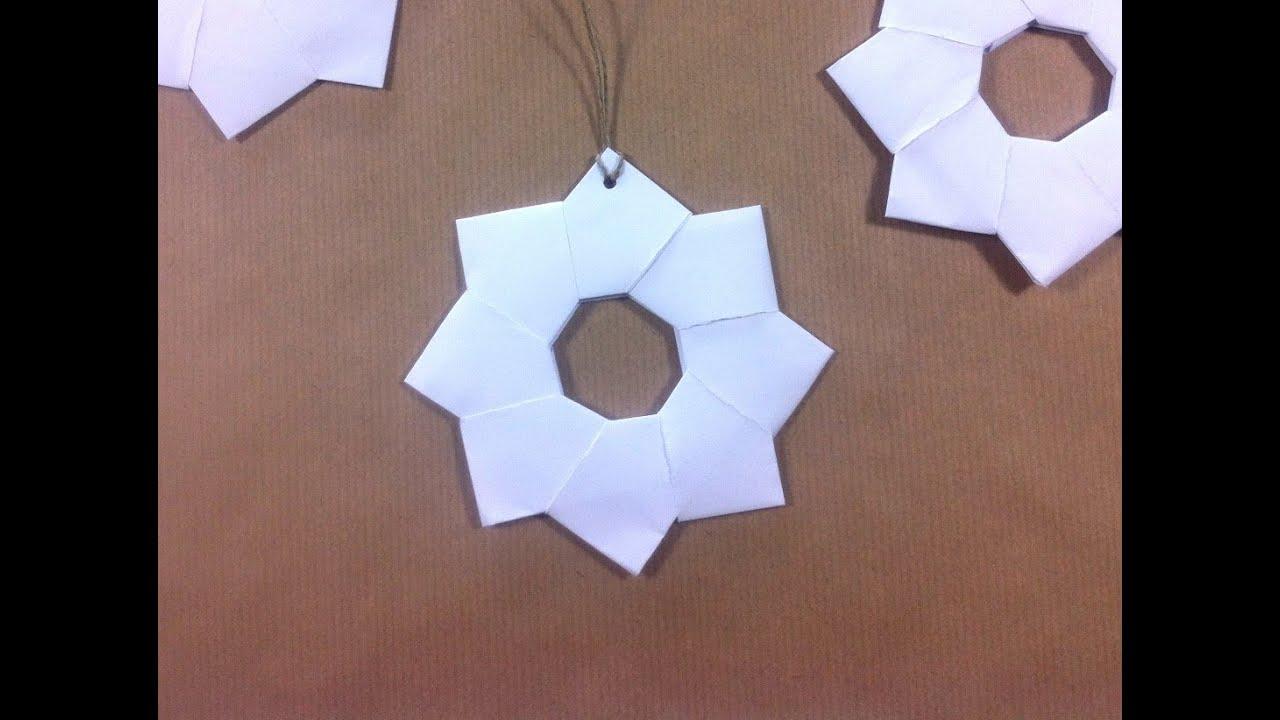 C mo hacer estrellas de papel japonesas para decorar la - Como hacer guirnaldas de navidad ...