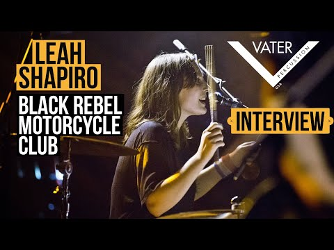 Vater Percussion - Leah Shapiro - Black Rebel Motorcycle Club