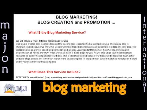 0 Blog Marketing and Promotion for Your Business