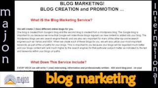 Blog Marketing and Promotion for Your Business
