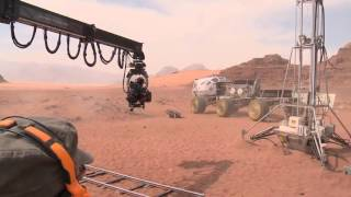 MARSLI KAMERA ARKASI(HD) MÜTHİŞ BİR ŞEY [The Martian Behind The Scenes]
