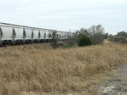 NB UPRR Manifest Train @ San Marcos TX.AVI