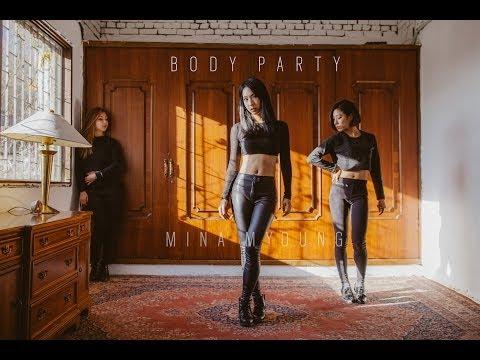 Mina Myoung Choreography   Body Party - Ciara
