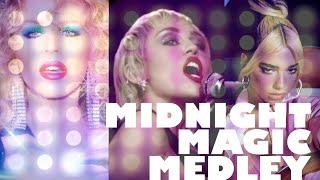 Kylie Minogue, Miley Cyrus & Dua Lipa - Midnight Magic Medley 2020
