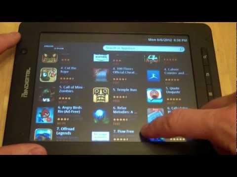 Installing App Store On Pandigital Supernova Android Tablet