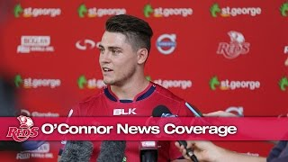 Australian Media coverage on James O'Connor's return | Super Rugby Video