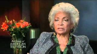 Nichelle Nichols on auditioning for Star Trek- EMMYTVLEGENDS.ORG