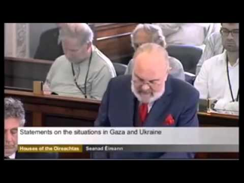 Irish Representative at the UN on the Gaza Issue