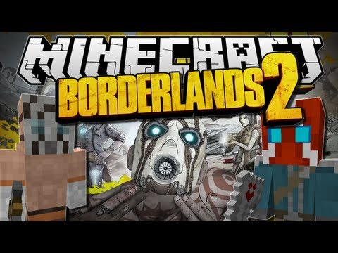 Minecraft   BORDERLANDS 2! (Amazing Weapons & Mobs!)   Mod Showcase [1.5.2]