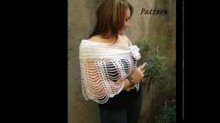 CROCHET SHAWL, SCARF AND BAG PATTERN NEW COLLECTION