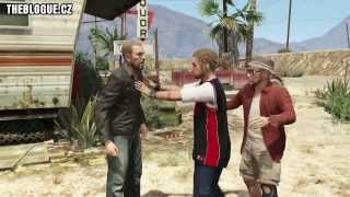 Grand Theft Auto V (GTA V)  - Trevor kill Johnny Klebitz