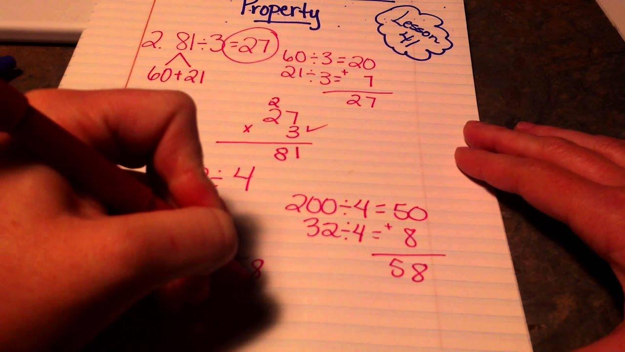 property division worksheet