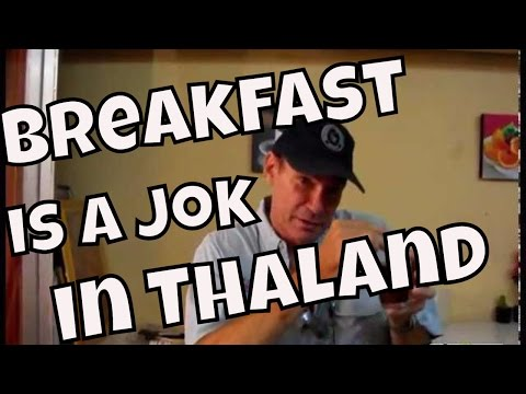 Chiang Mai, Thailand — Eating Breakfast in Thailand is Usually a Jok!