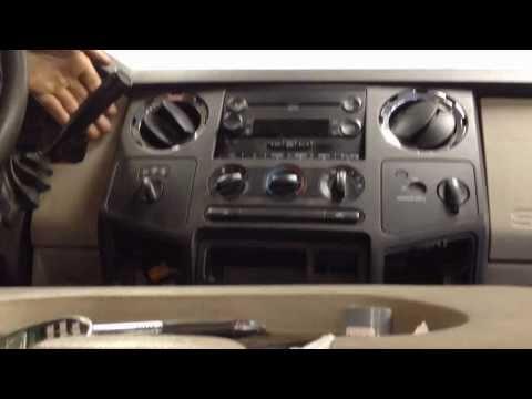 Ford Superduty Erratic Temp Blend Door Actuator Removal