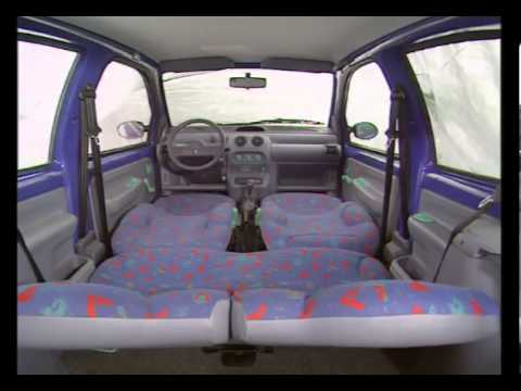Renault twingo interior youtube for Interieur twingo 2