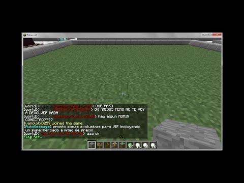 Dar permisos a otros en tu parcela Minecraft