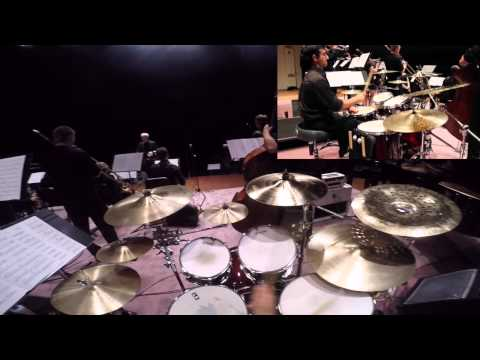 Whiplash Drum Cover (GoPro + HD Camera View)