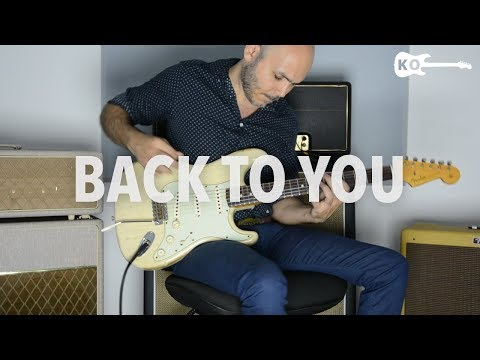 Louis Tomlinson ft. Bebe Rexha - Back to You - Electric Guitar Cover by Kfir Ochaion
